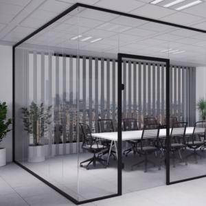 BLACK SERIES - Aluminiowe systemy do ścian szklanych